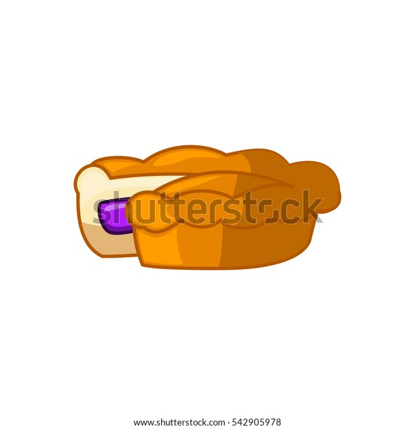 pie icon illustration isolated vector sign symbol