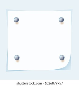 a piece of paper crushed by balls