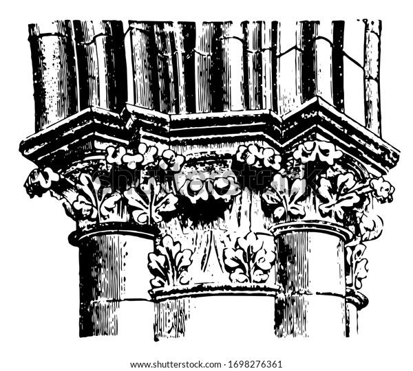 Image result for chartres cathedral engraving
