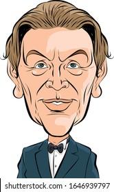 Pierre Gilles Vector Caricature Portrait