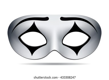 Pierrot carnival mask