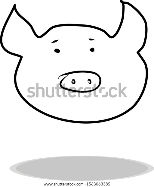 Free Pig Clipart Black And White, Download Free Clip Art, Free Clip Art on  Clipart Library