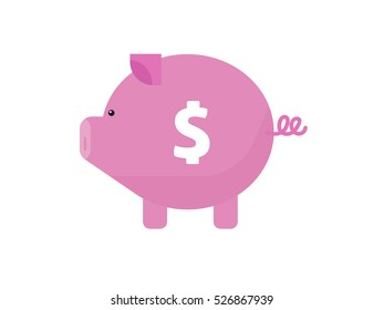 Pig love money