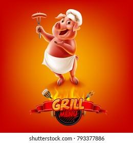 pig menu bbg