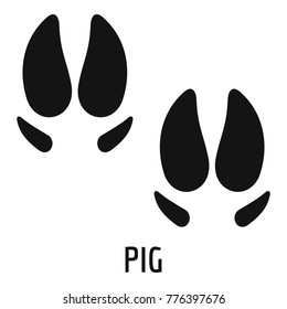 Pig Foot Print Hd Stock Images Shutterstock