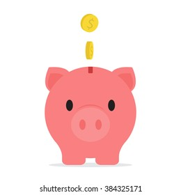 Piggy Bank Savings Vector