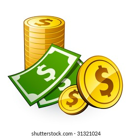dollar bill images stock photos vectors shutterstock rh shutterstock com 5 Dollar Bill Clip Art 500 Dollar Bill Clip Art