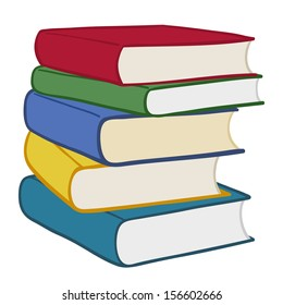 cartoon stack of books images stock photos vectors shutterstock rh shutterstock com how to draw cartoon stack of books how to draw cartoon stack of books