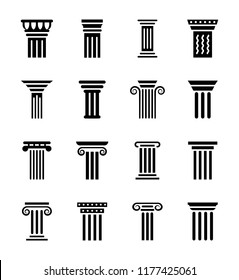 Pillar art icons