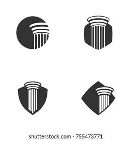 Pillar Logo Element Template