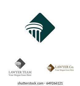 Pillar Logo for Lawyer