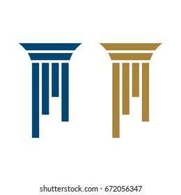 Pillar Logo for Lawyer Firm