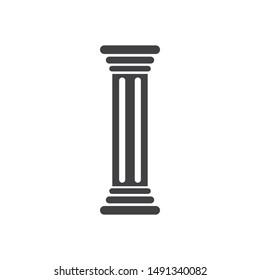 pillar Logo vector Template illustration design