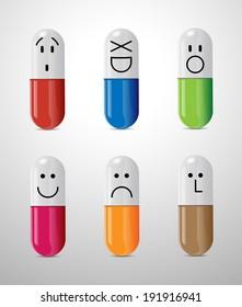 Pills - health care concept
