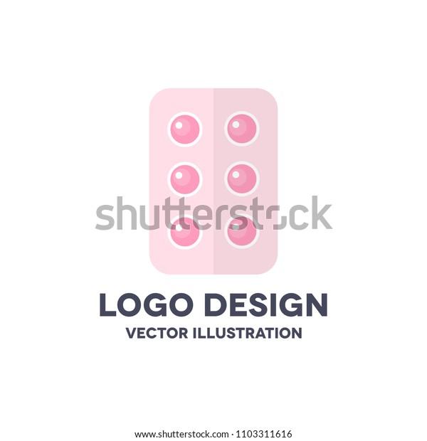 pills vector icon