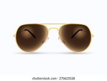 pilot sunglasses illustration