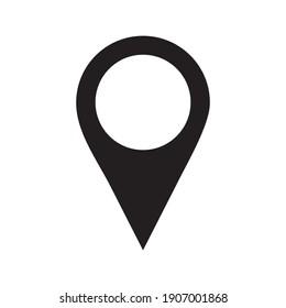 pin location icon vector design template