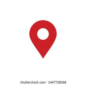 Pin location icon vector illustration