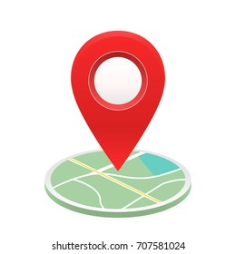 pin location map vector ,marker ,direction