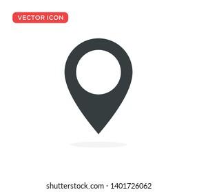 Pin Location Mark Sign Icon Vector Illustration