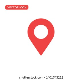 Pin Location Mark Sign Icon Vector Illustration