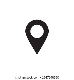Pin Location, pin marker, map pin icon vector isolated
