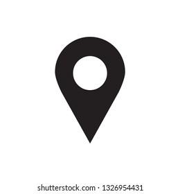 Pin Locator Icon Vector
