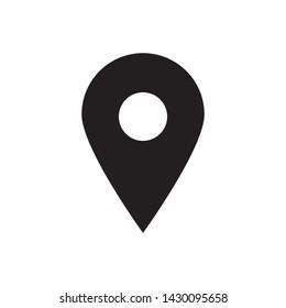 pin locator icon vector design template
