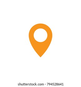 Pin map location icon vector design