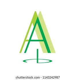 pine logo template