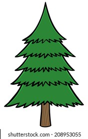 Cartoon Pine Trees Images Stock Photos Vectors