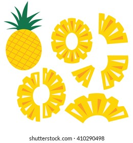 Pineapple Chunk Stock Illustrations, Images & Vectors ...