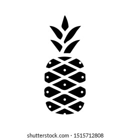 Pineapple icon vector design template