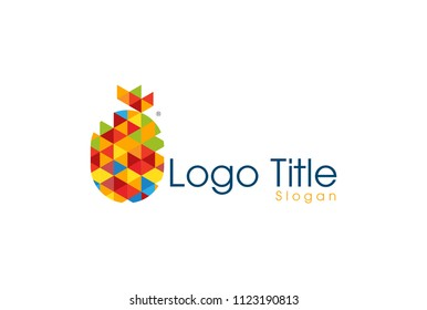 Pineapple logo icon