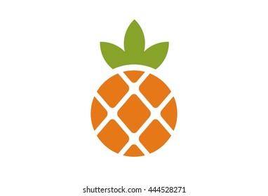 pineapple logo vector