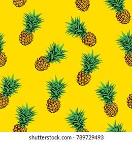 pineapple pattern background