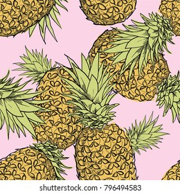 pineapple seamless vector file