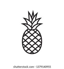 Pineapple symbol icon