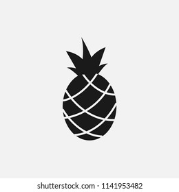 pineapple vector icon. citrus, fruit, healthy, ananas, sweet,juicy, tropical, food, fresh,yellow vector.dessert,diet,vitamin, organic,natural,delicious,health,tasty, juice icon for web and mobile app