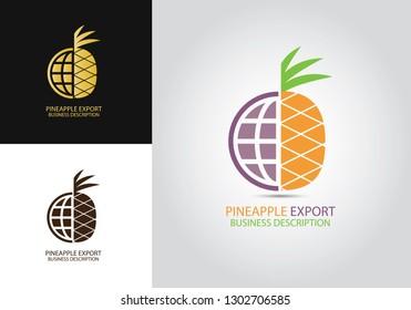 Pineapple World Logo