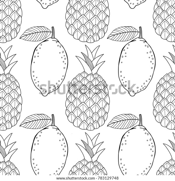 Lemon13 Coloring Page - Free Lemons and Limes Coloring Pages ... | 620x600