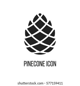 Pinecone Icon Vector
