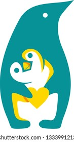 pinguin care educations kids logo