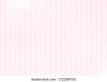 Pink abstract striped background with lavender blush vertical stripes. Simple vector graphic wallpaper