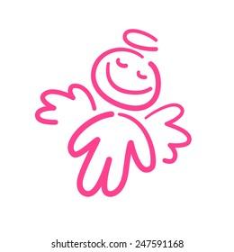 pink angel dream