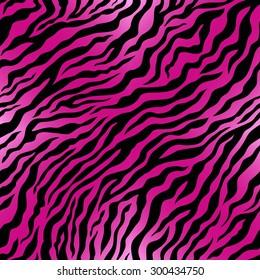 Pink animal skin. Vector seamless.