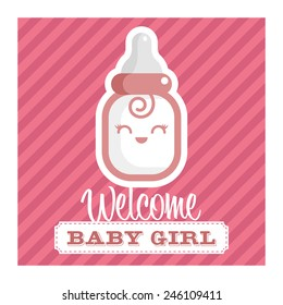 welcoming baby girl