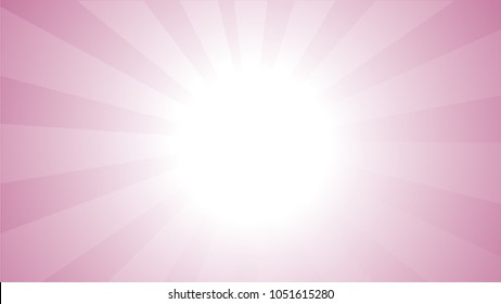 Pink Background With Ligths and Gradient
