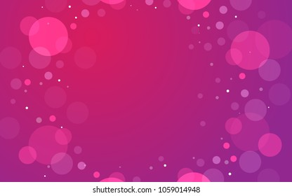 Pink Background with ligths and shiny