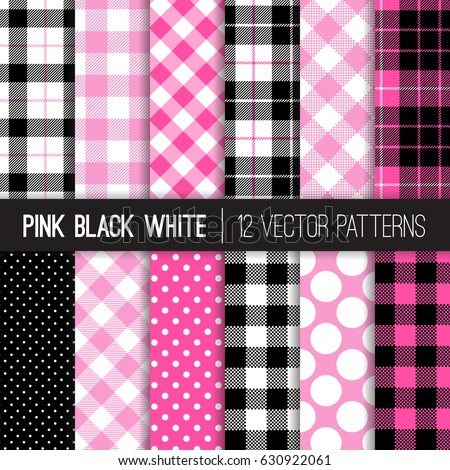 pink black and white backgrounds